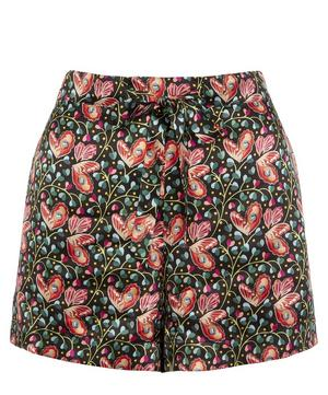 Coralie Relaxed Silk Shorts