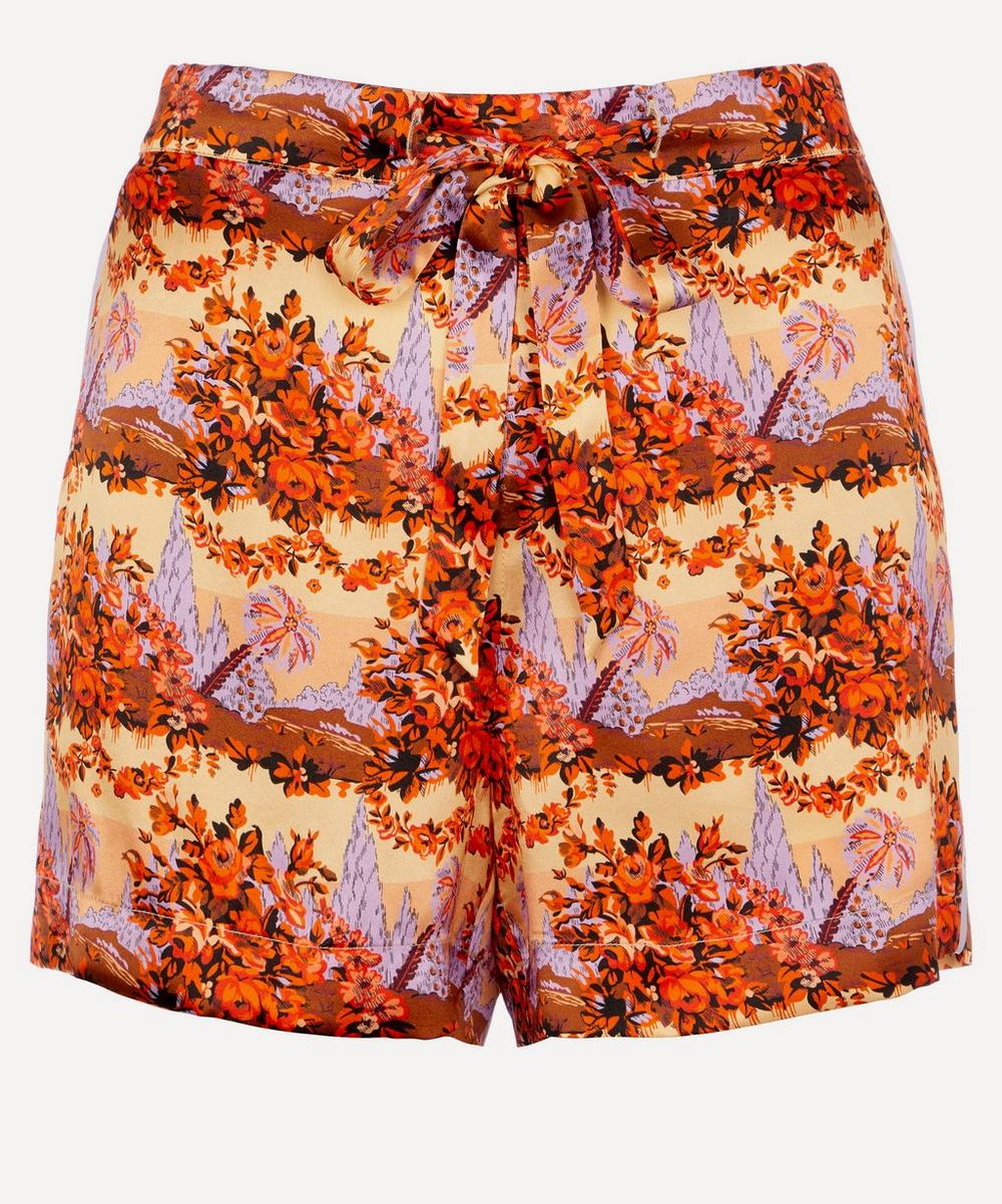 Liberty - Dina Relaxed Silk Shorts