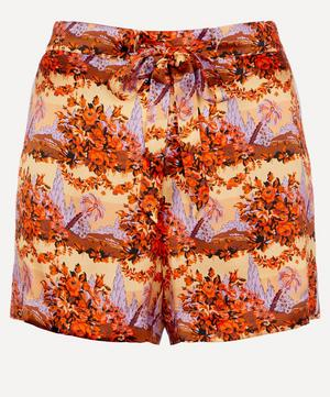 Dina Relaxed Silk Shorts