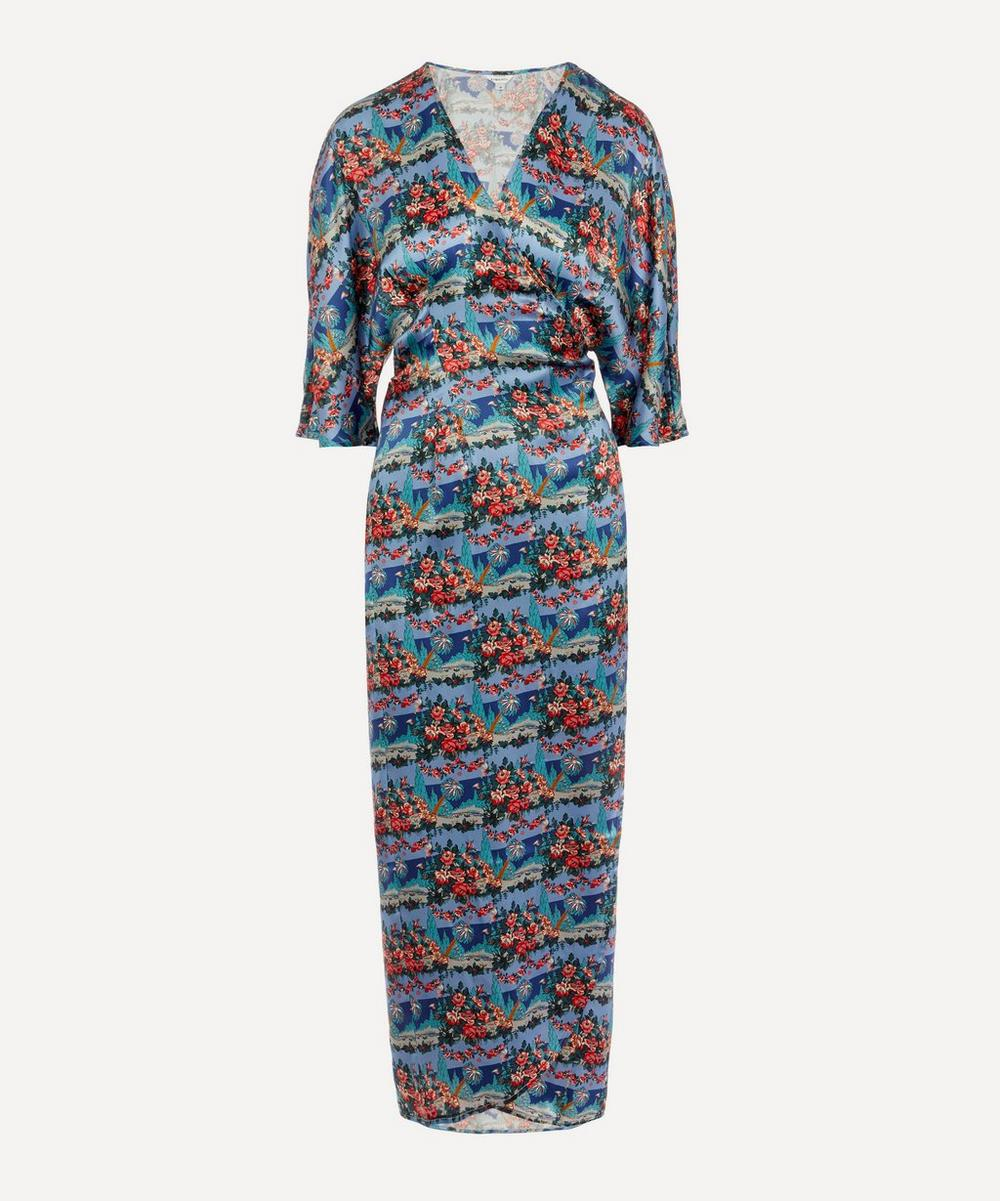 Liberty - Dina Silk Wrap Dress