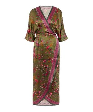 Sirena Silk Wrap Dress