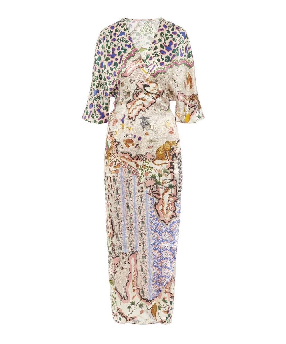 Liberty - Sedona Silk Wrap Dress