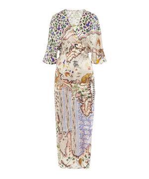 Sedona Silk Wrap Dress