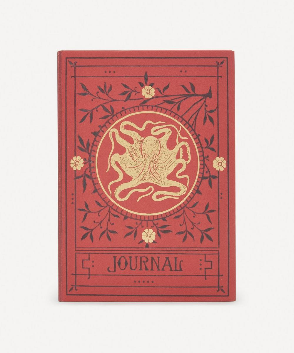 Unspecified - Octopus Lined Journal