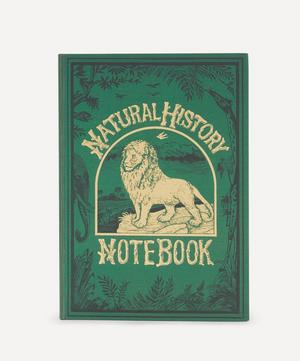 Lion Lined Journal