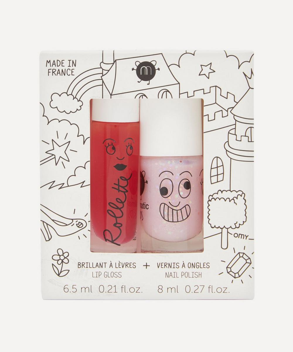 Nailmatic - Fairy Tales Lip Gloss and Nail Varnish Set