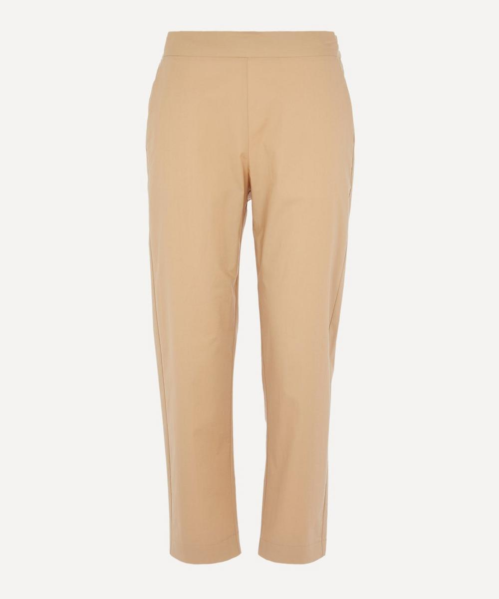 Piazza Sempione - Tapered Cotton-Blend Trousers