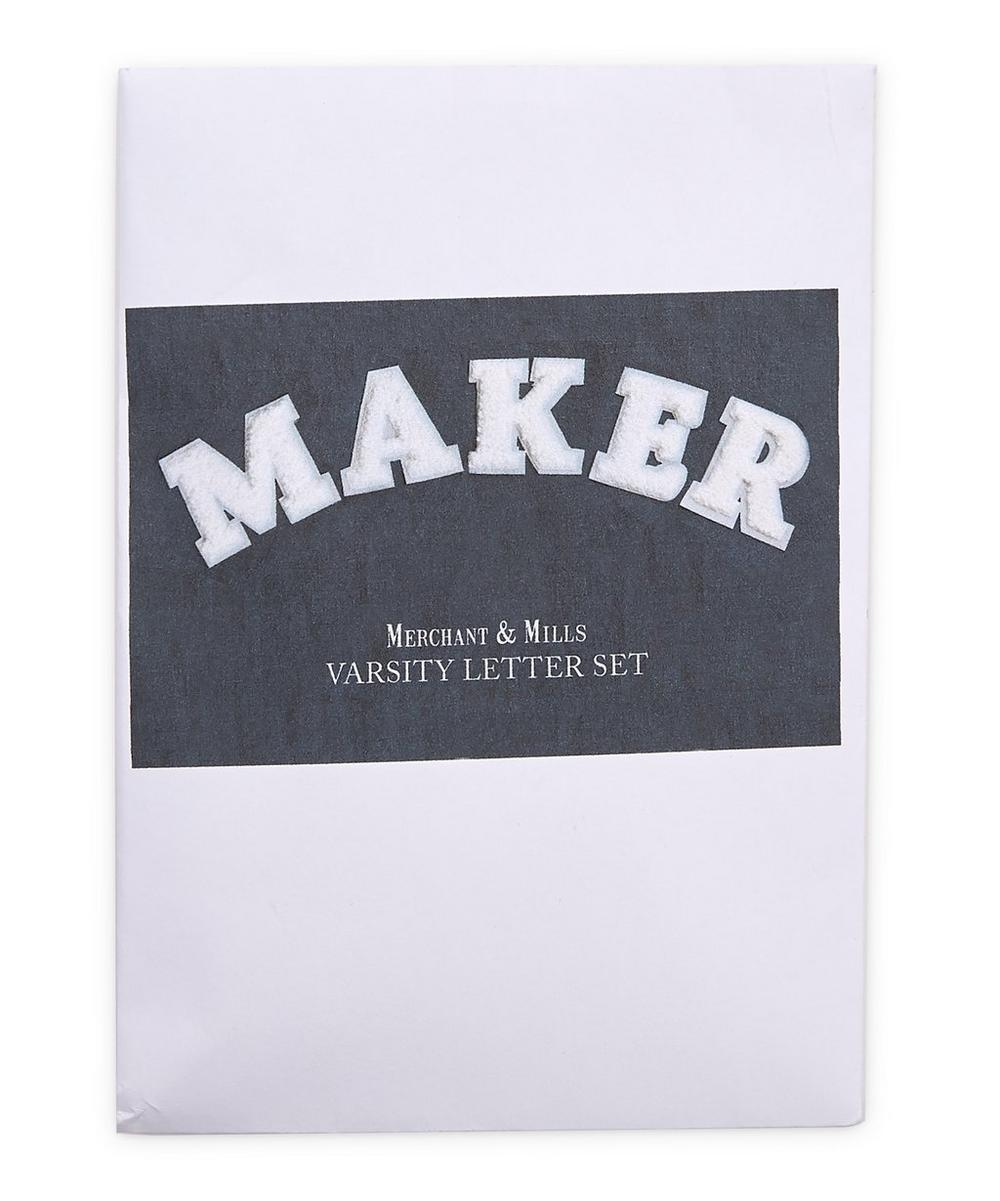 Merchant & Mills - Varsity Letter Set