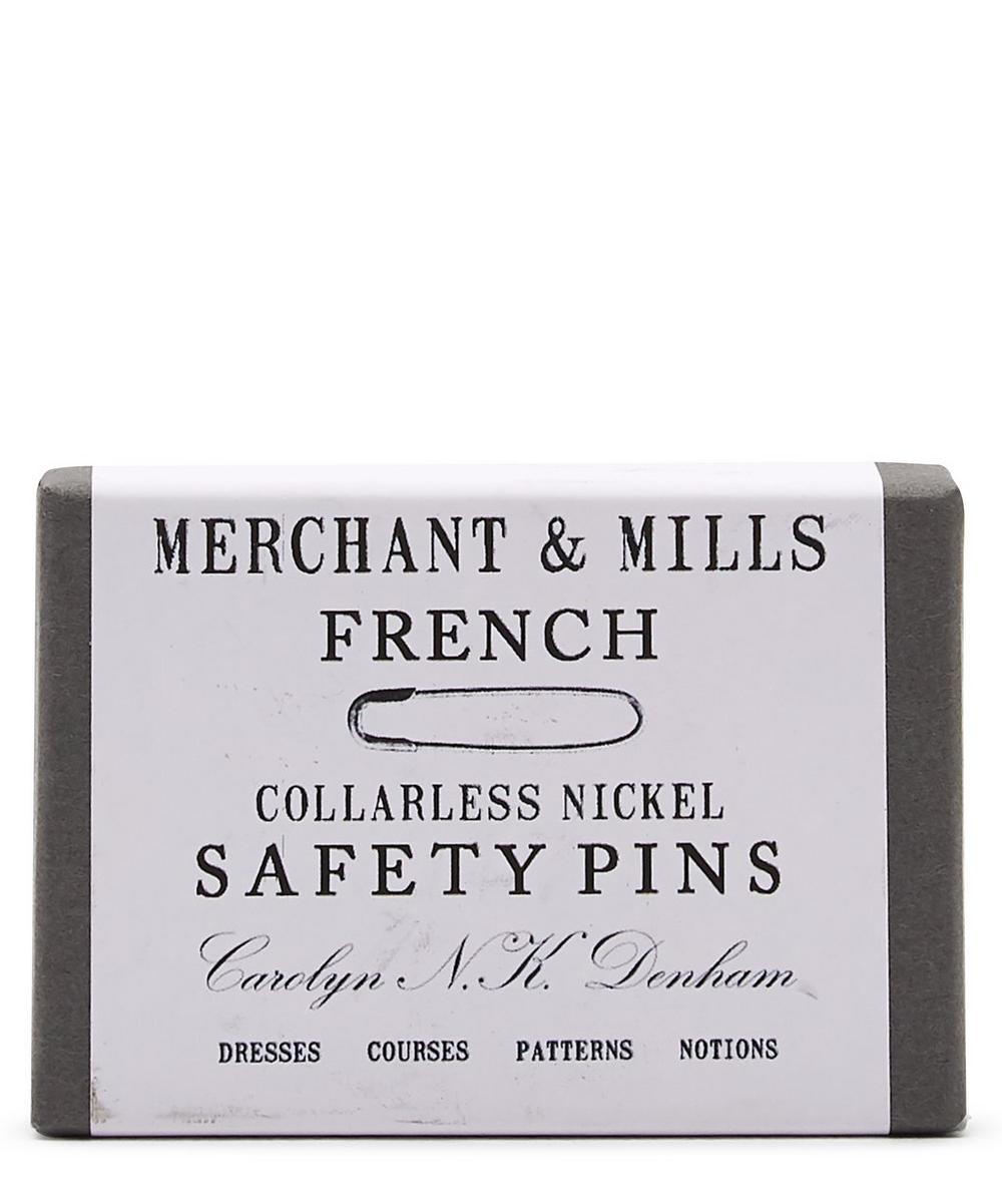 Merchant & Mills - Nickel French Safety Pins