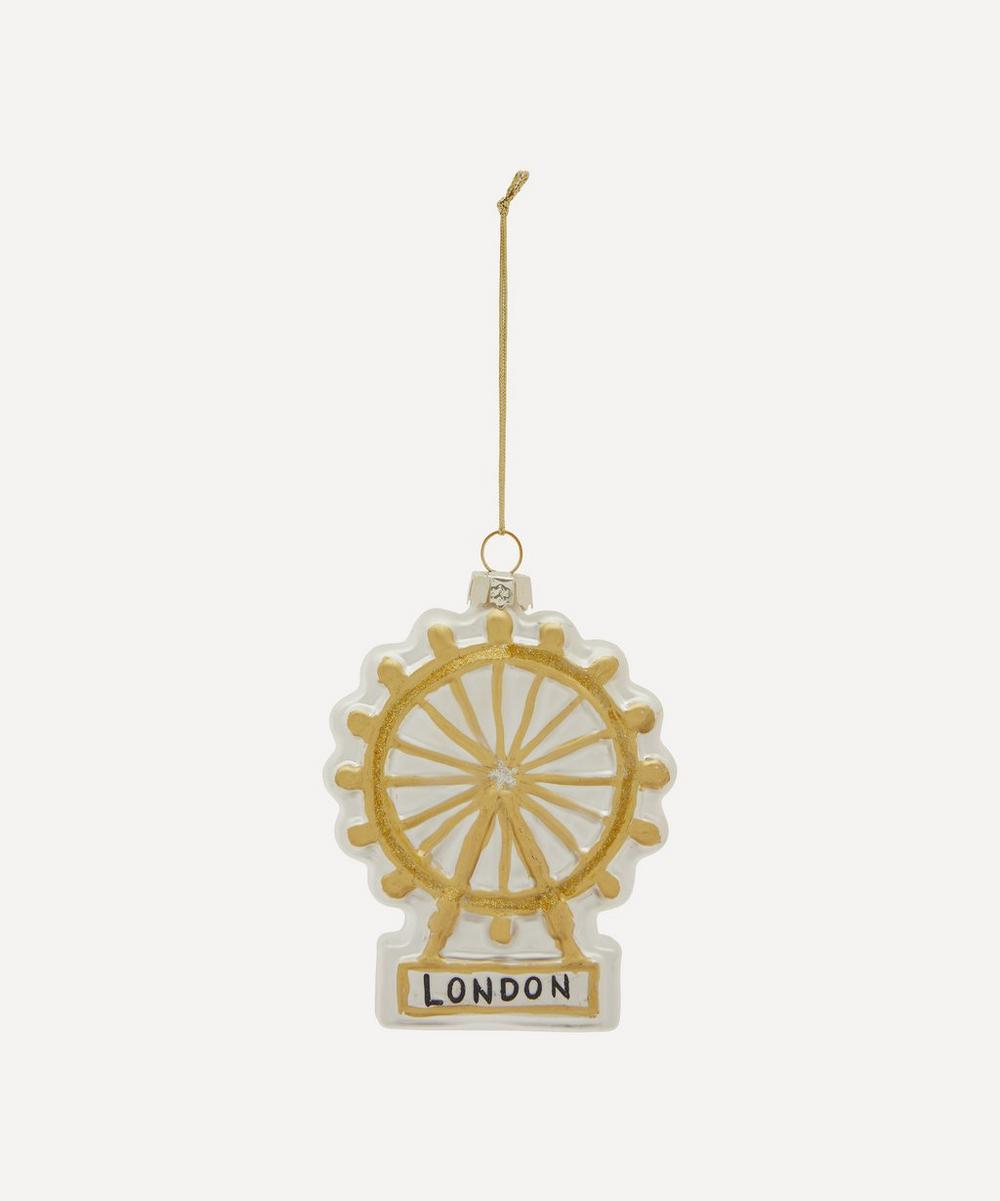 Unspecified - London Eye Glass Decoration image number 0