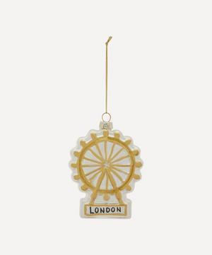 London Eye Glass Decoration