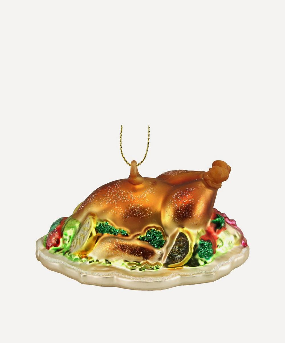Unspecified - Glass Turkey Dinner Ornament