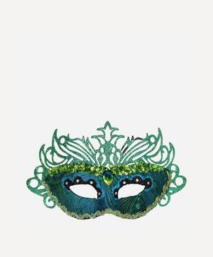 Peacock Filigree Mask