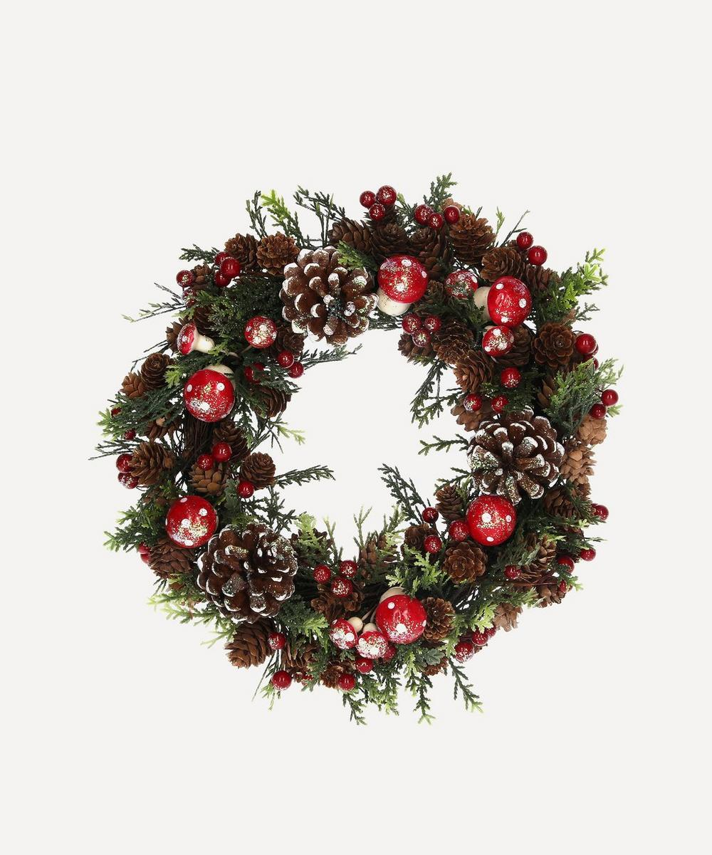 Unspecified - Cone Toadstools Wreath