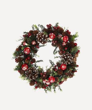 Cone Toadstools Wreath