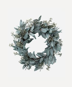 Frosted Green Wreath