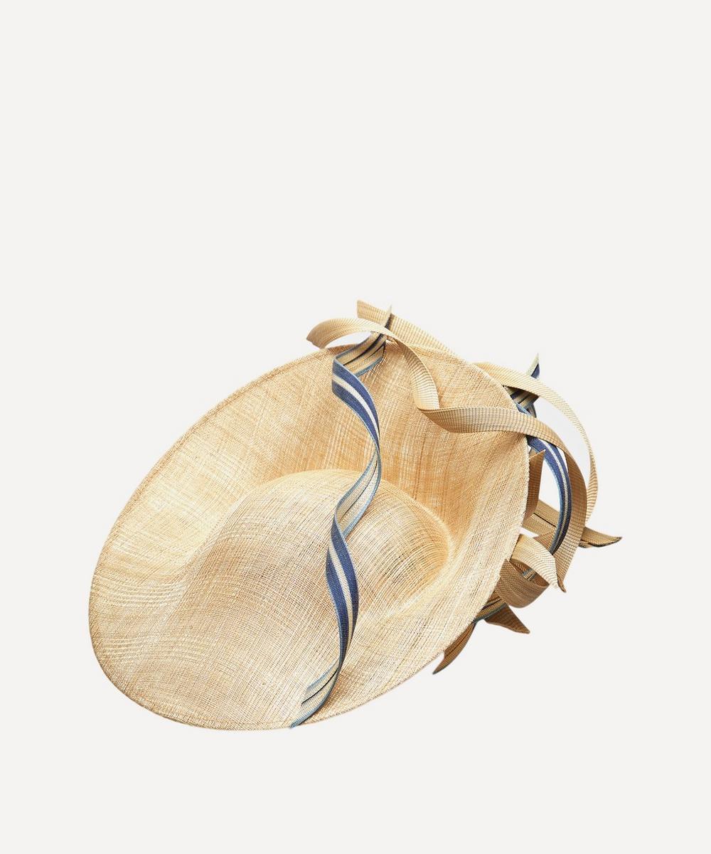 Jane Taylor - Sculptural Sinamay Slice Headpiece
