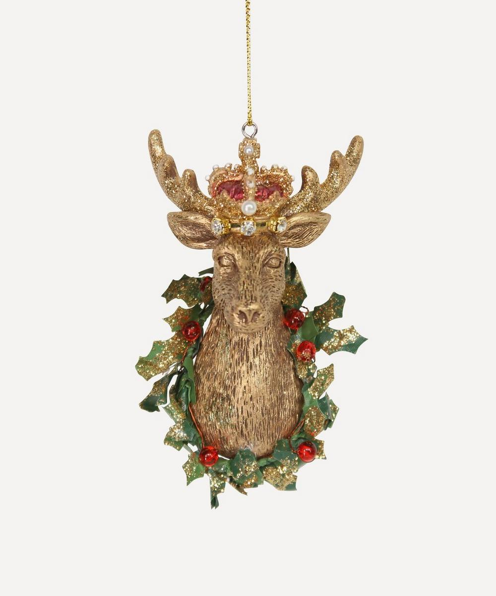Unspecified - Resin Stag Head Decoration
