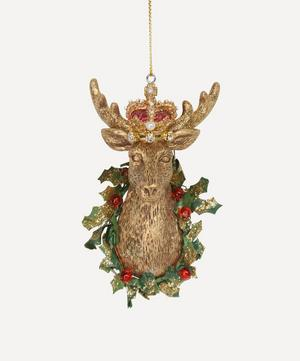 Resin Stag Head Decoration