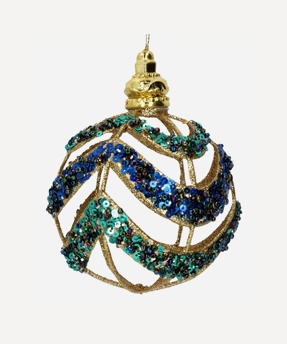 Unspecified - Cut-Out Sequins Bauble