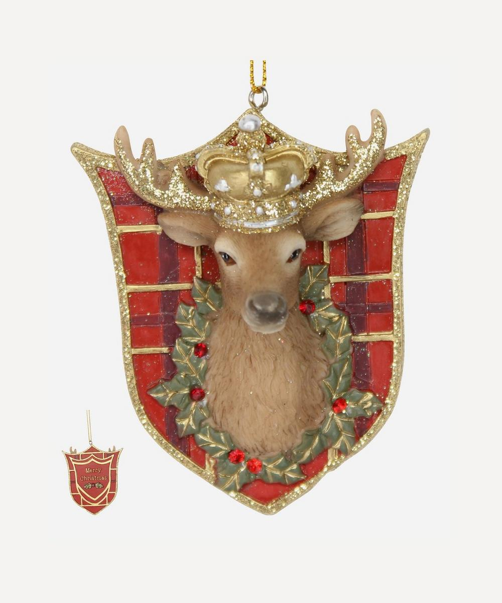 Unspecified - Stag Head Plaque Decoration