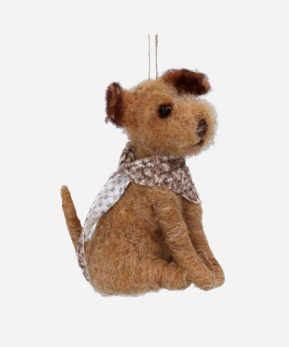 Unspecified - Great Sitting Dog Decoration