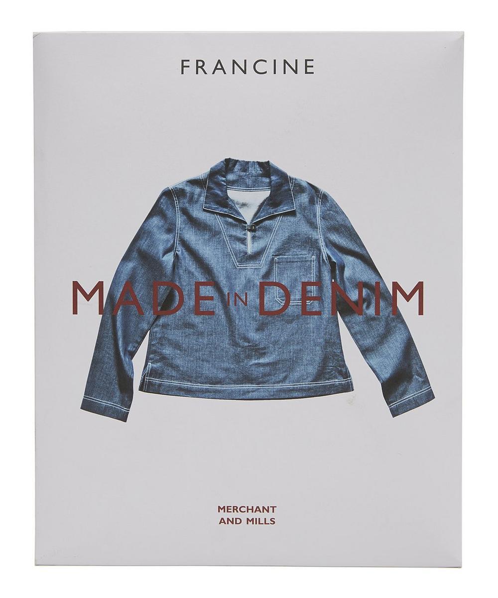Merchant & Mills - Francine Denim Dress Sewing Pattern