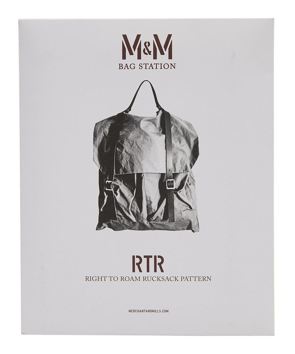 Merchant & Mills - Right To Roam Rucksack Sewing Pattern