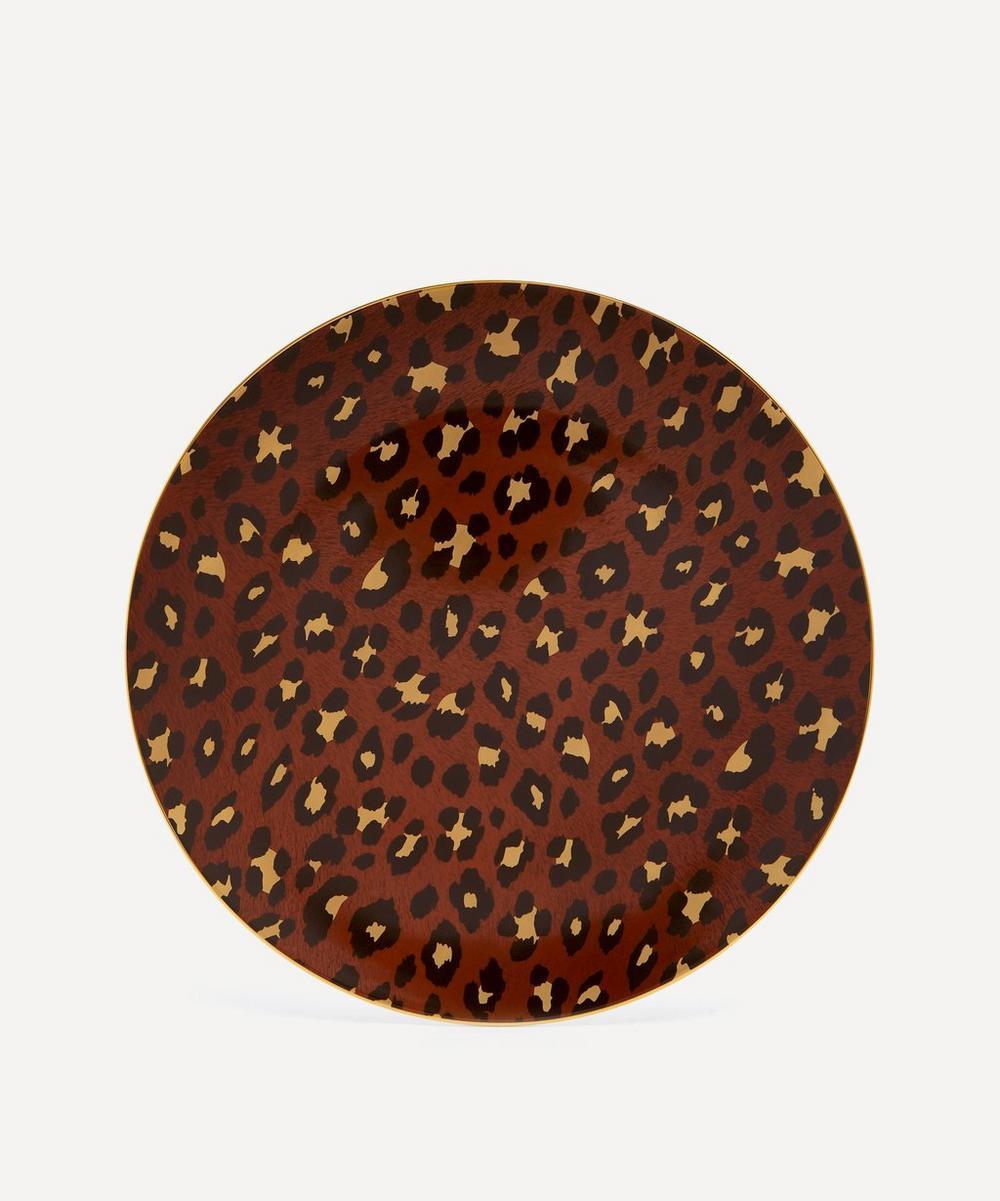 L'Objet - Leopard Charger Plate