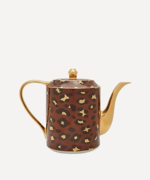 Leopard Teapot