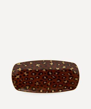 Medium Leopard Rectangular Tray