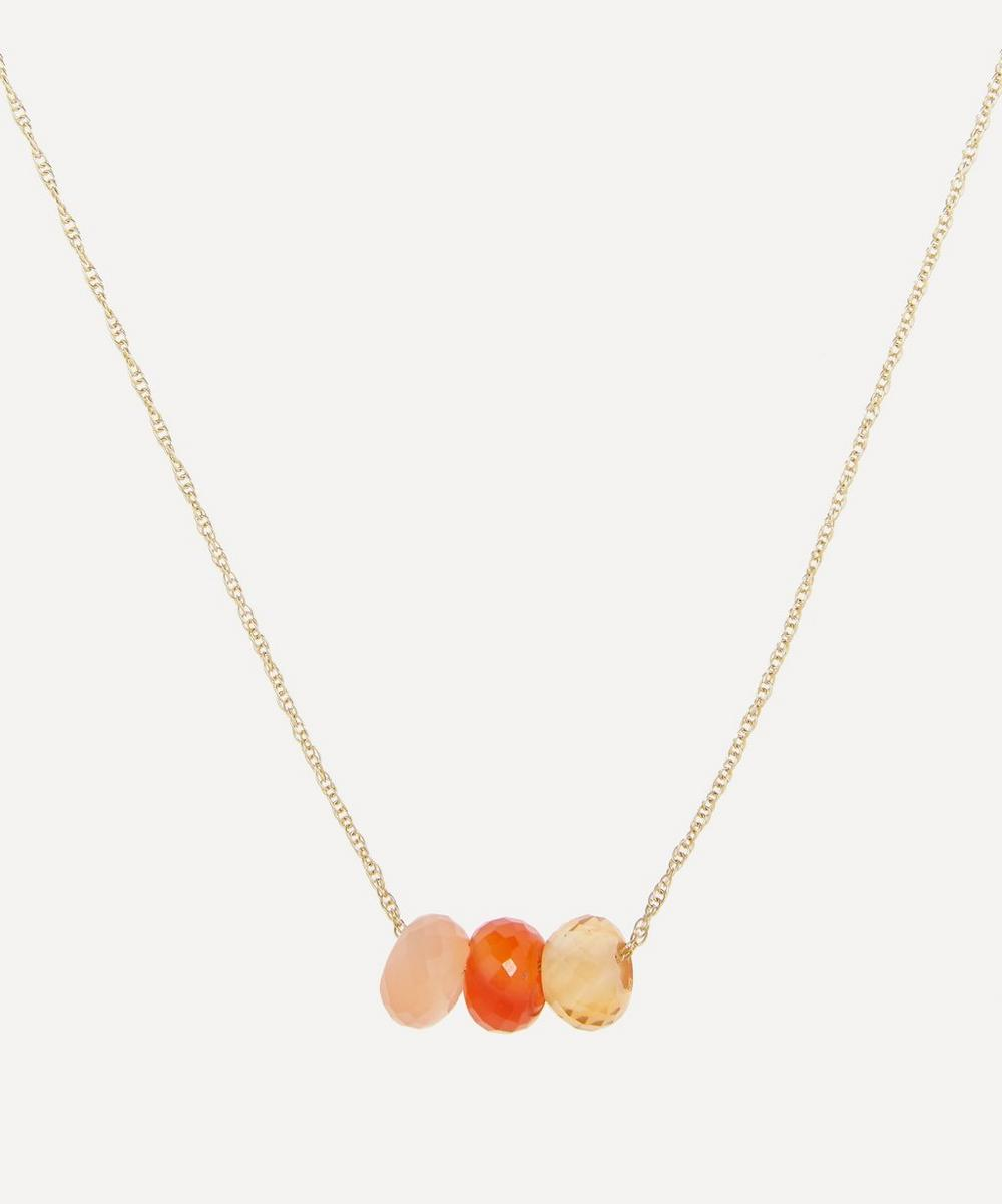Roxanne First - Gold The Super Attractor Crystal Necklace