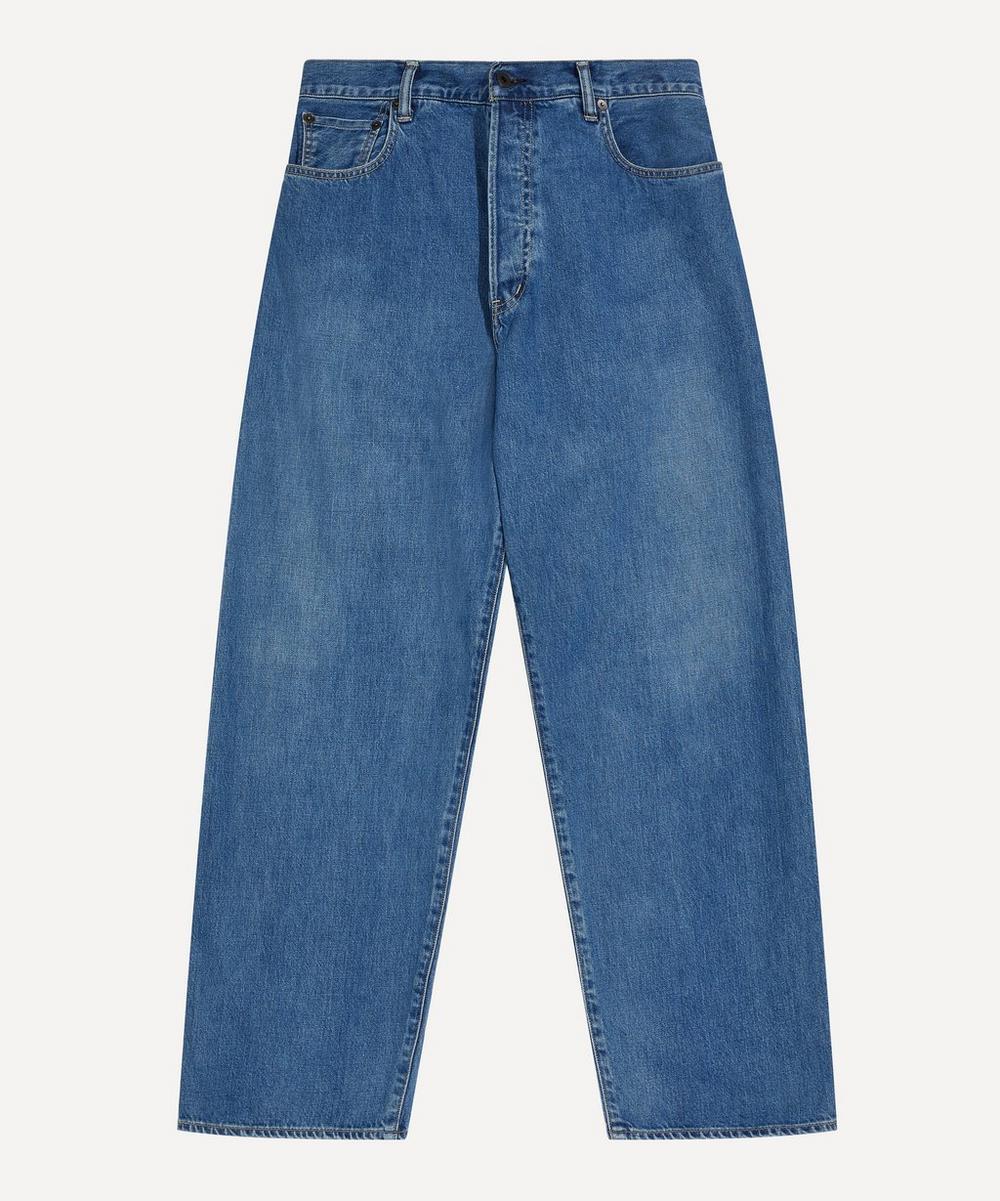 Kuro - Crossed Relaxed Denim Jeans