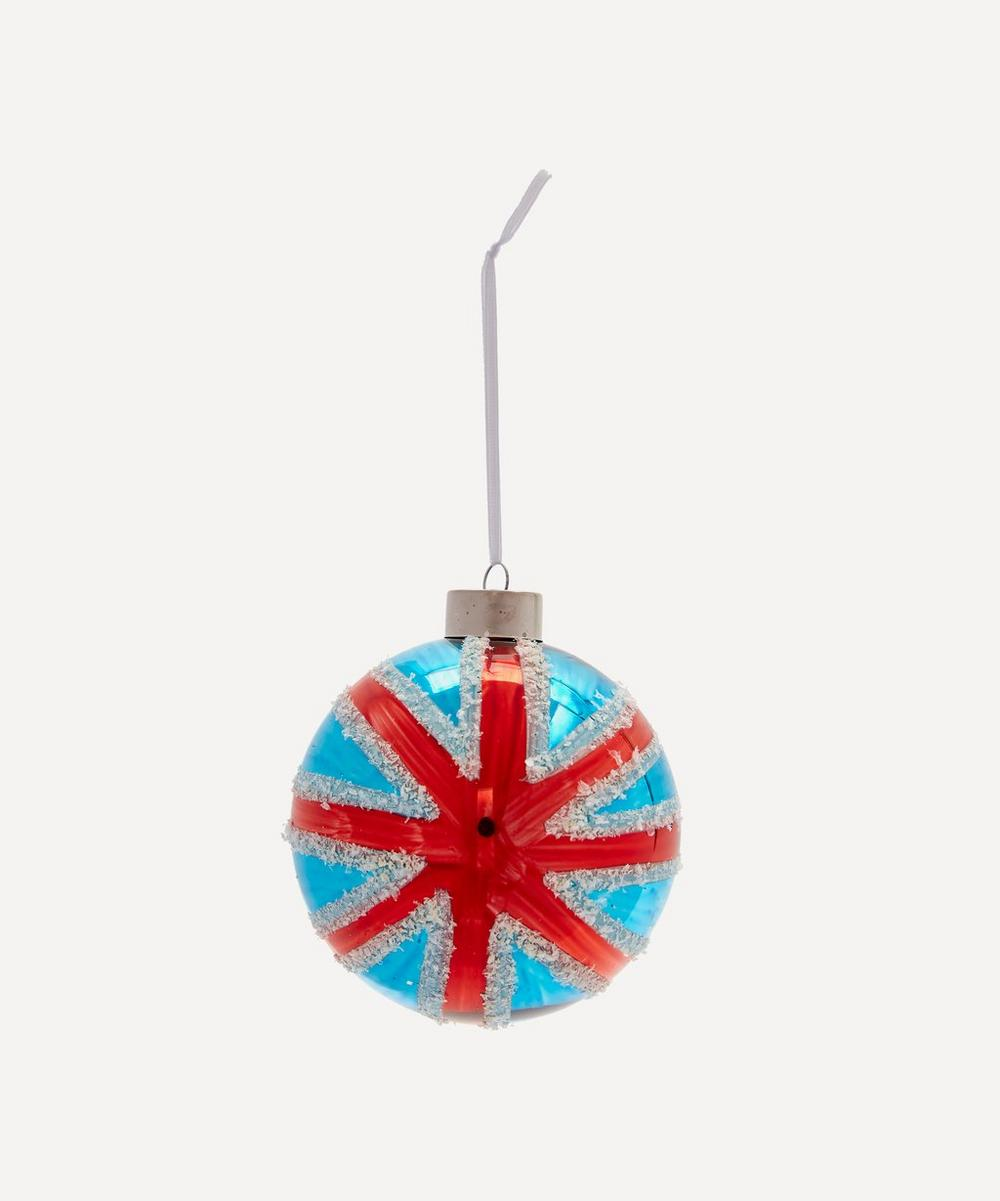 Unspecified - Union Jack Glass Bauble