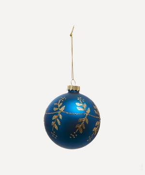 Jubilee Vine Glass Bauble