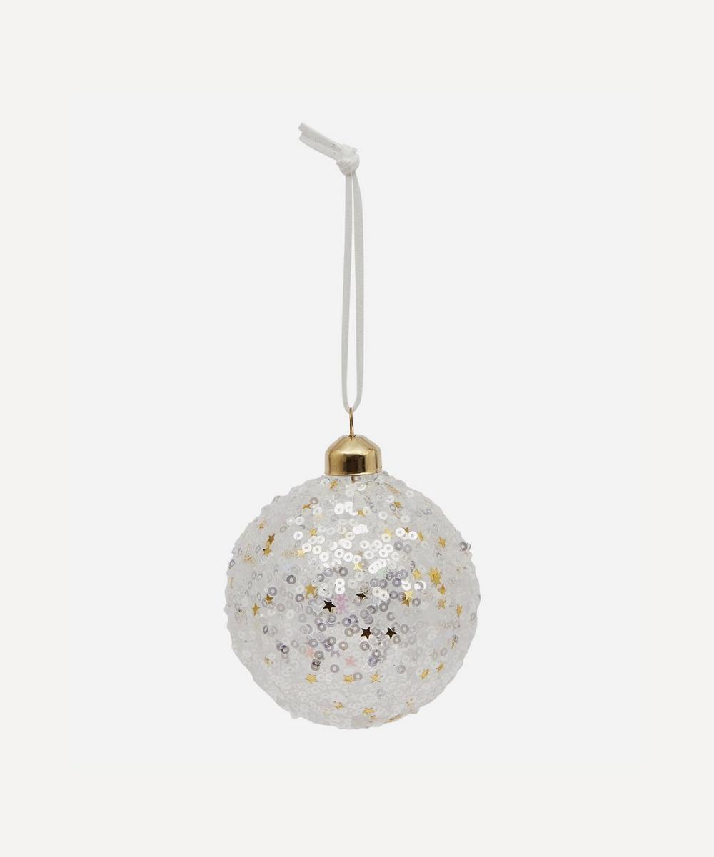 Unspecified - Iris Glitter Bauble