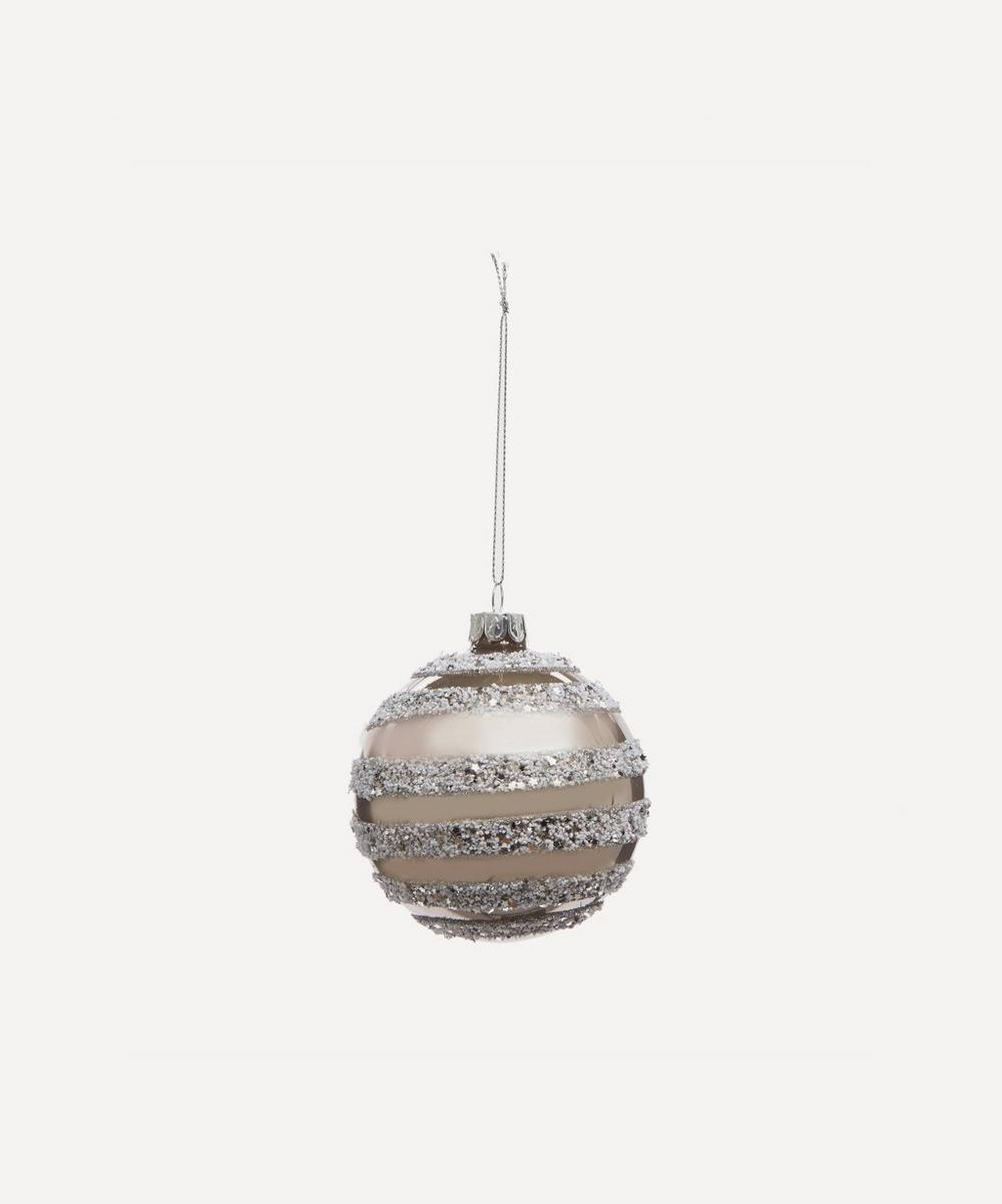 Unspecified - Glass Glitter Bauble