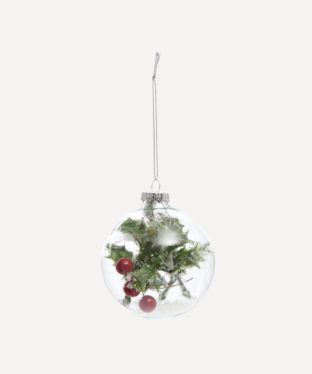 Unspecified - Glass Holly Berry Decoration