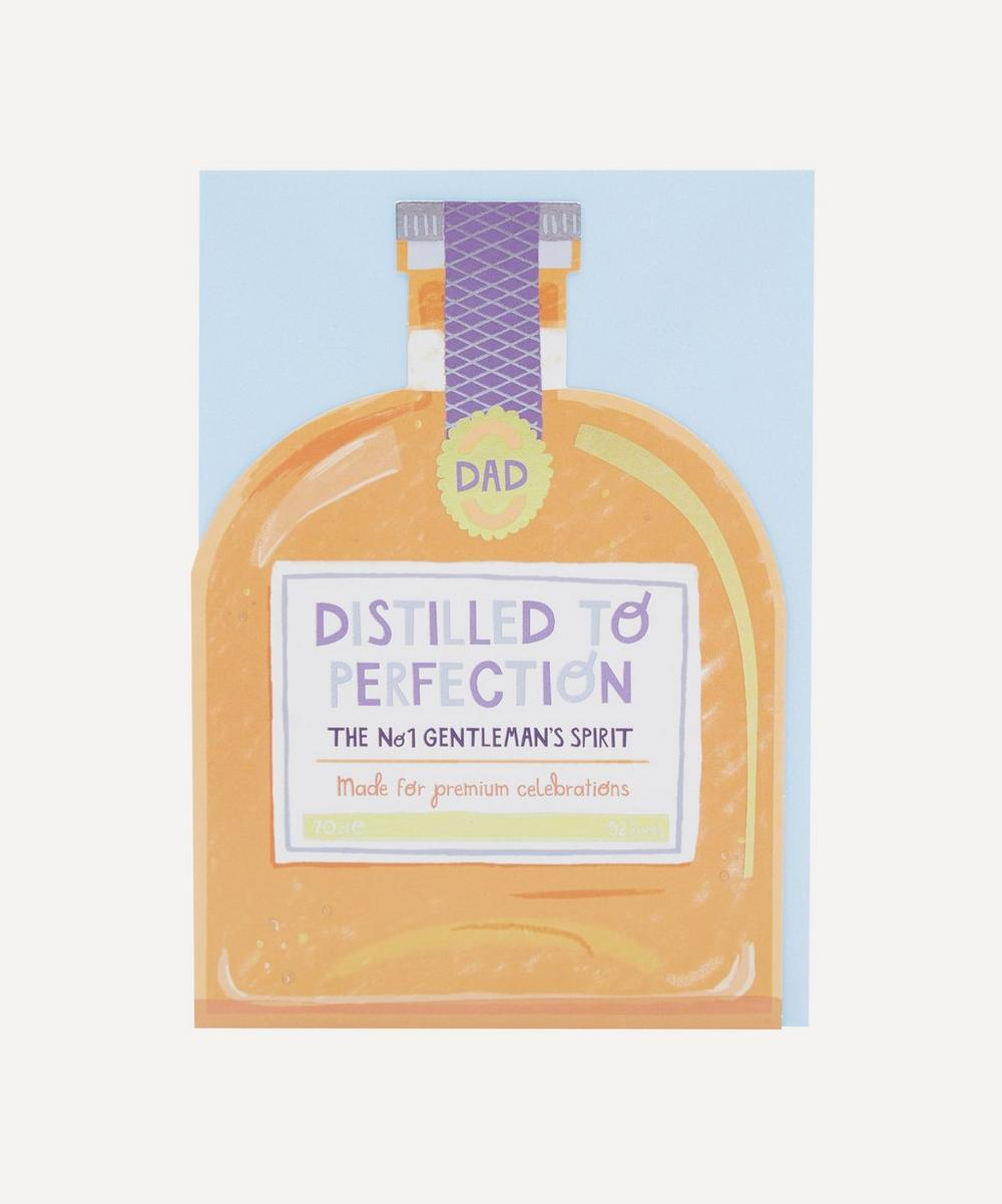 Unspecified - Distilled to Perfection Father's Day Card