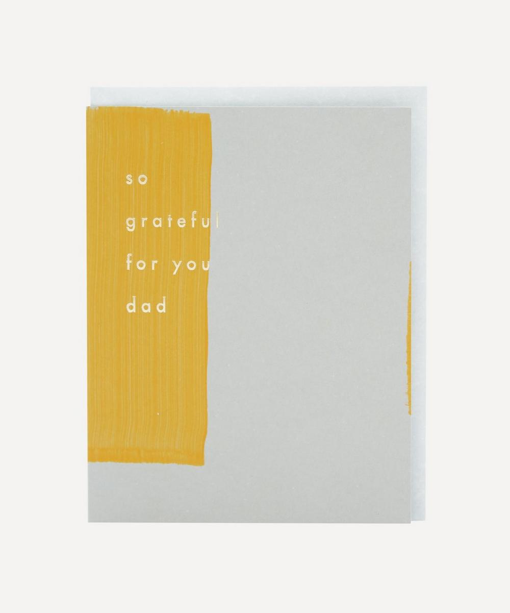 Unspecified - Grateful For Dad Father's Day Card