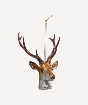 Reindeer Head Hanging Decoration