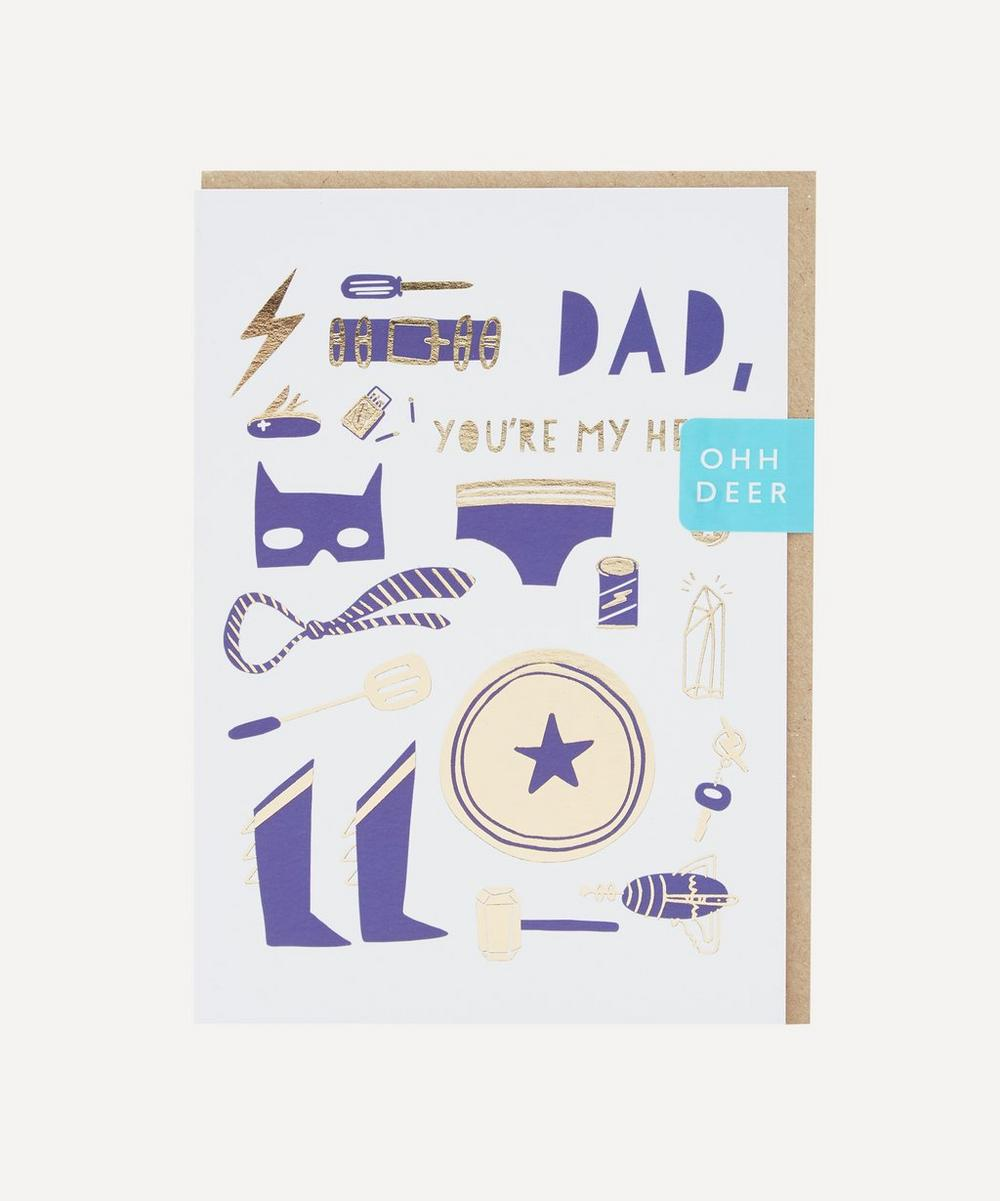 Unspecified - Super Dad Father's Day Card