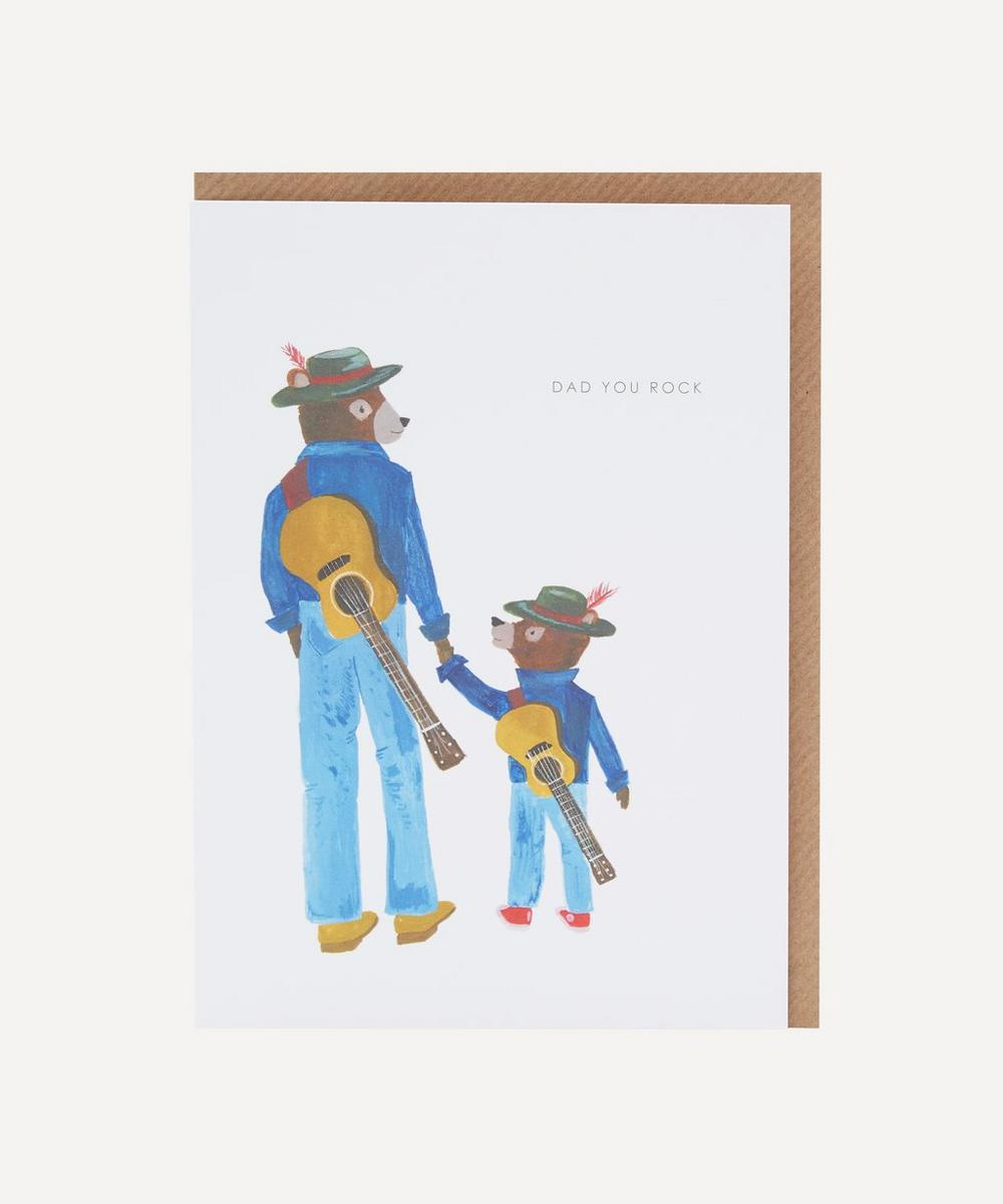 Unspecified - Dad You Rock Father's Day Card