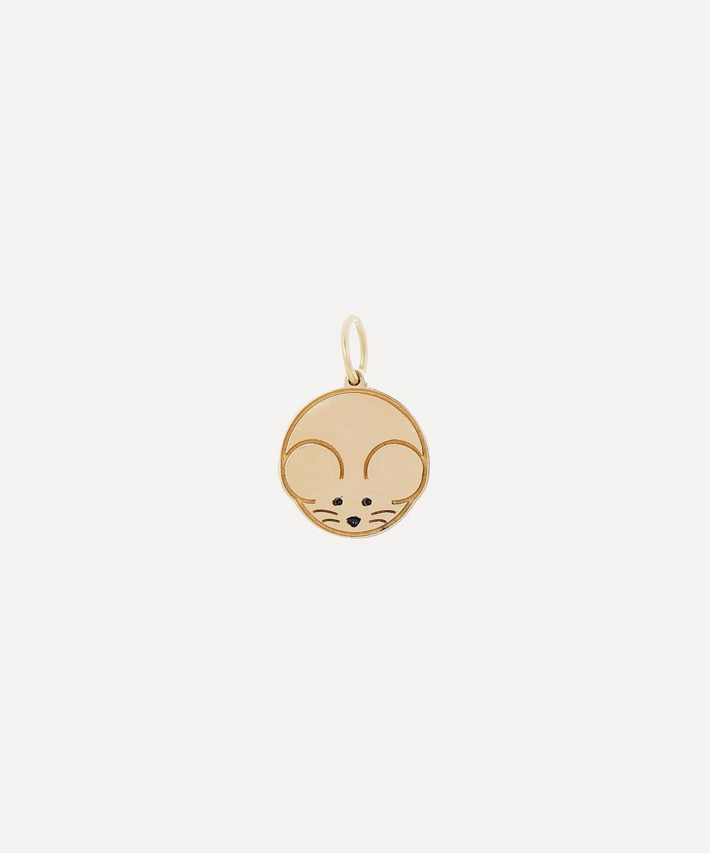 Atelier VM - Gold Chinese Zodiac Rat Charm