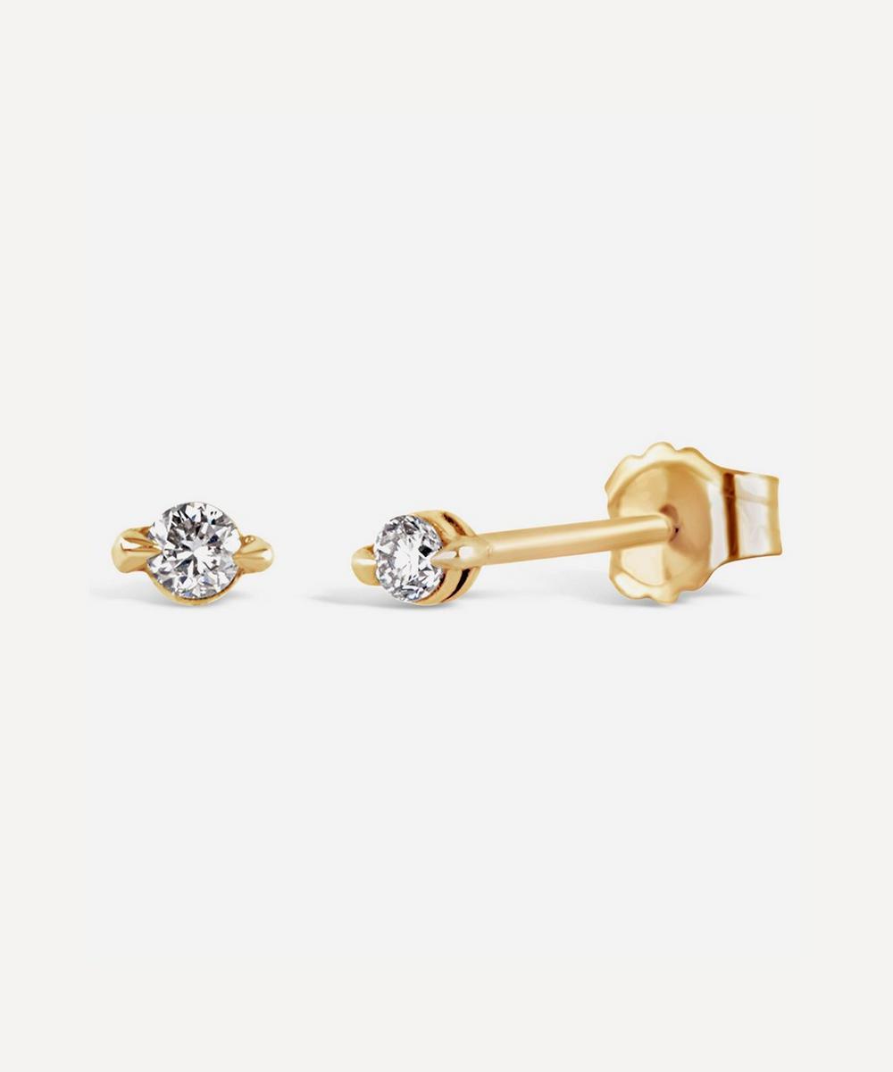 Dinny Hall - Gold Shuga Diamond Stud Earrings