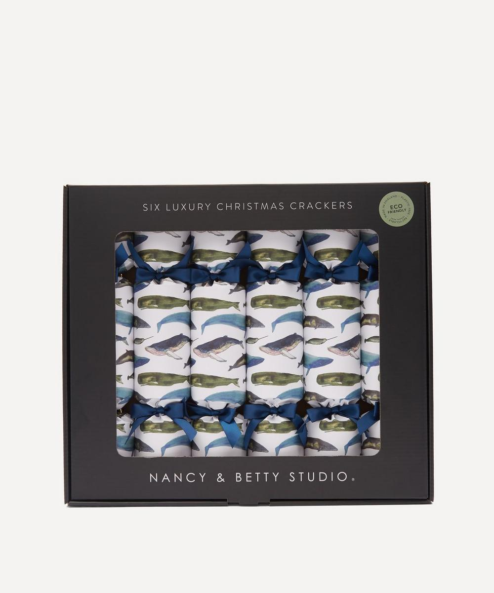 Nancy & Betty - Winter Whales Luxury Christmas Crackers