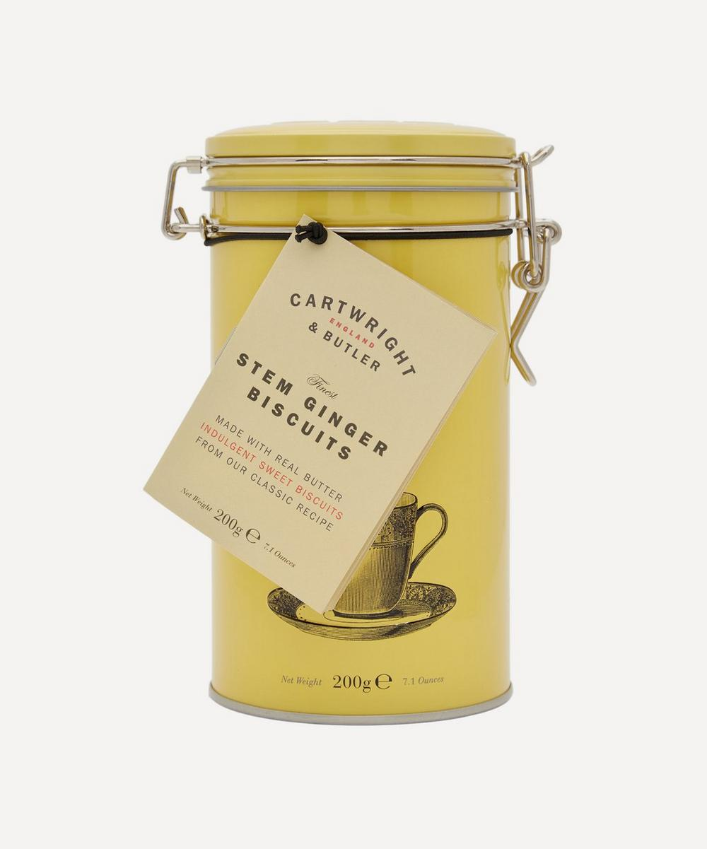 Cartwright & Butler - Stem Ginger Biscuit Tin 200g