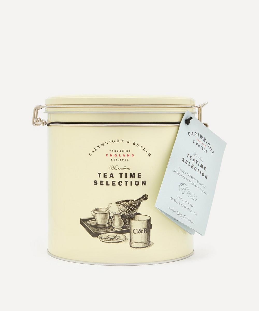 Cartwright & Butler - Tea Time Biscuit Selection Tin 580g