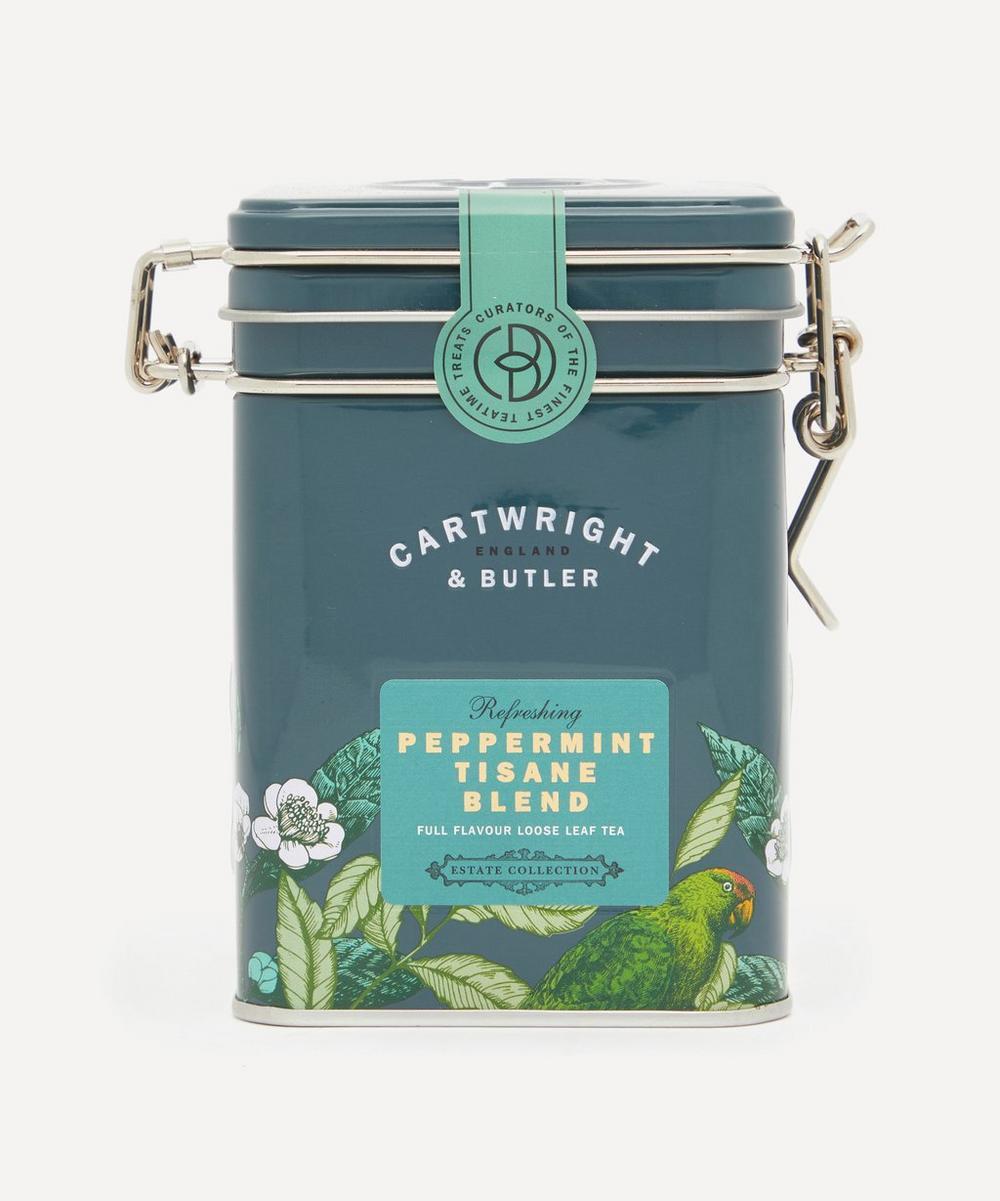 Cartwright & Butler - Peppermint Tisane Blend Loose Leaf Tea Caddy 30g