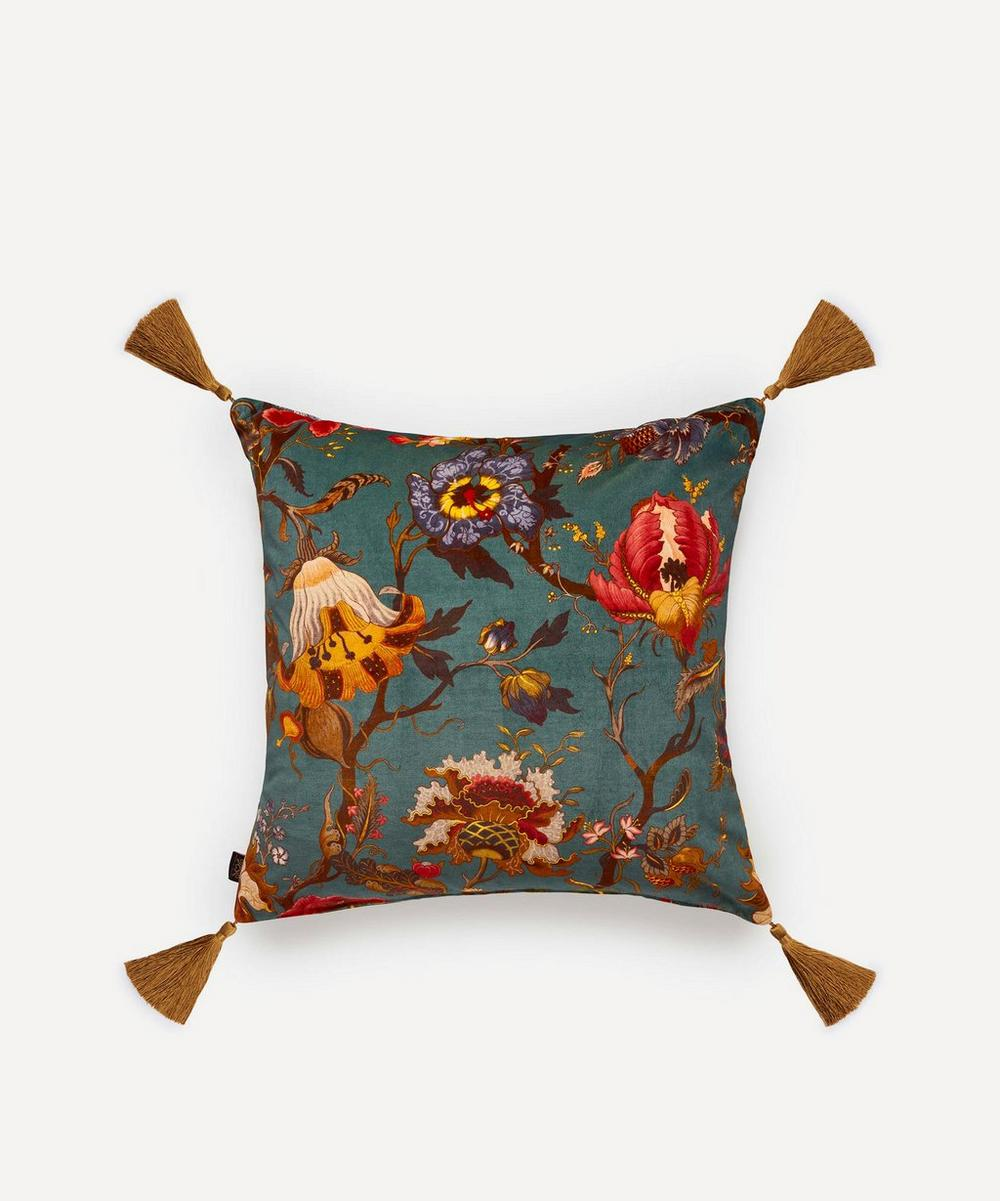 House of Hackney - Artemis Large Velvet Cushion